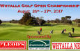 2017 Whyalla Open Results