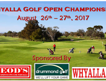 It's on again – The Whyalla Open!