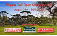 Whyalla Open – Saturday & Sunday Draws