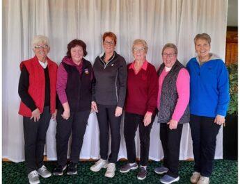 Women's Club Championship Winners